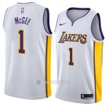 Camiseta Los Angeles Lakers Javale Mcgee #1 Association 2018 Blanco