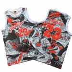 Camiseta Michael Jordan #23 Commemorative Gris