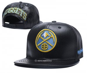 NBA Denver Nuggets Sombrero Negro Amarillo