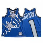 Camiseta Orlando Magic Penny Hardaway #1 Mitchell & Ness Big Face Azul