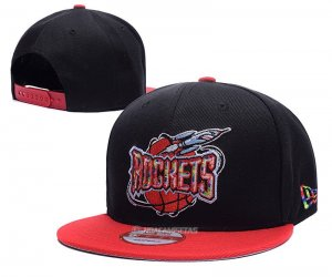 NBA Houston Rockets Sombrero Negro Rojo