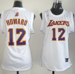 Camiseta Mujer de Howard Los Angeles Lakers #12 Blanco