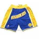 Pantalone Golden State Warriors Just Don Classic Azul