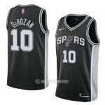 Camiseta San Antonio Spurs Demar Derozan NO 10 Icon 2017-18 Negro