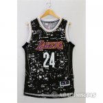 Camiseta Lakers Bryant #24 Luces de la ciudad