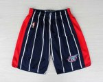 Pantalone retro de Azul Houston Rockets NBA