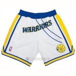 Pantalone Golden State Warriors Just Don Classic Blanco