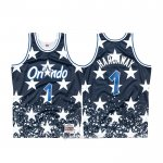 Camiseta Orlando Magic Penny Hardaway #1 Mitchell & Ness Throwback Azul