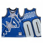 Camiseta Orlando Magic Aaron Gordon #00 Mitchell & Ness Big Face Azul