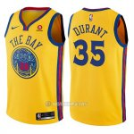 Camiseta Nino Golden State Warriors Kevin Durant #35 Ciudad Amarillo