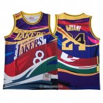 Camiseta Mitchell & Ness Big Face Kobe Bryant