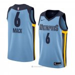 Camiseta Memphis Grizzlies Shelvin Mack #6 Statement 2018 Azul