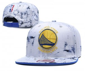 NBA Golden State Warriors Sombrero Blanco Amarillo