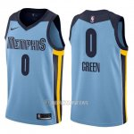 Camiseta Memphis Grizzlies Jamychal Green #0 Statement 2017-18 Azul
