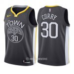 Camiseta Nino Golden State Warriors Stephen Curry Statement #30 2017-18 Gris