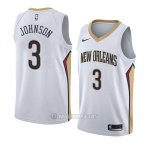 Camiseta New Orleans Pelicans Stanley Johnson #3 Association 2018 Blanco