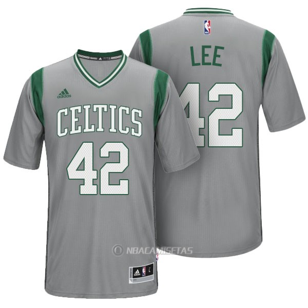 c87ff1754a8d4 Camiseta Manga Corta Boston Celtics Lee  42 Gris  KKK445  - €23.00 ...