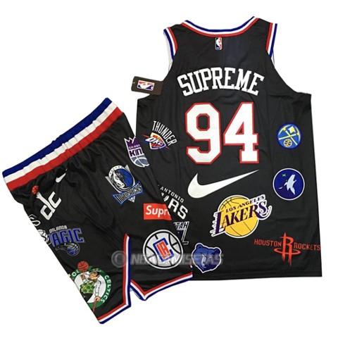 new product 26b89 a5d2f Camiseta Supreme x Nike 94 Negro