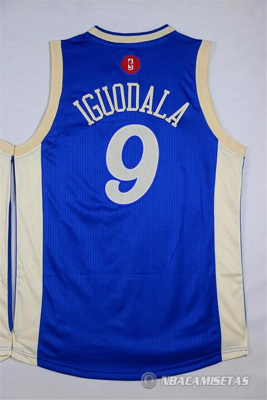 Camiseta Golden State Warriors Iguodala Navidad #9 Azul [equ2121] - €22.00 : Comprar camisetas ...