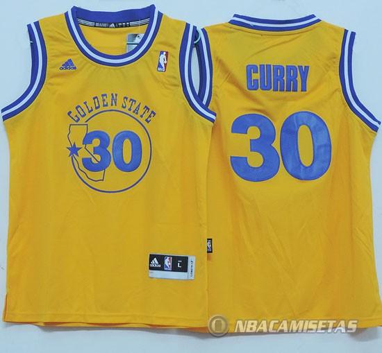 Camiseta Nino Amarillo Curry Golden State Warriors  nin24  - €21.00 ... afddefa21eb