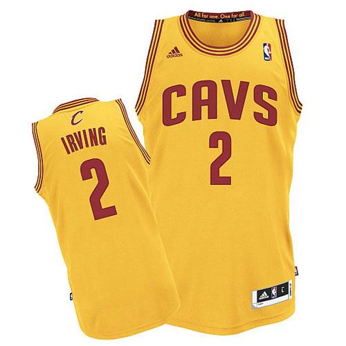 Camiseta Amarillo Irving Cleveland Cavaliers Revolution 30  revv0042 ... 54c0dac012c