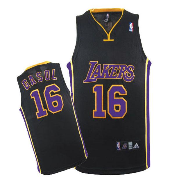 €22 Negro Baratas Comprar Camiseta Gasol De Camisetas Lakers Los Revolution 30 revv0121 Angeles - 00 Nba