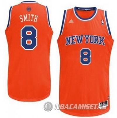 bd087c3f86461 Camiseta Naranja Smith New York Knicks Revolution 30  revv0289 ...