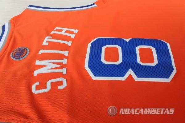 Camiseta Naranja Smith New York Knicks Revolution 30  revv0289 ... 6f2f0cded2d