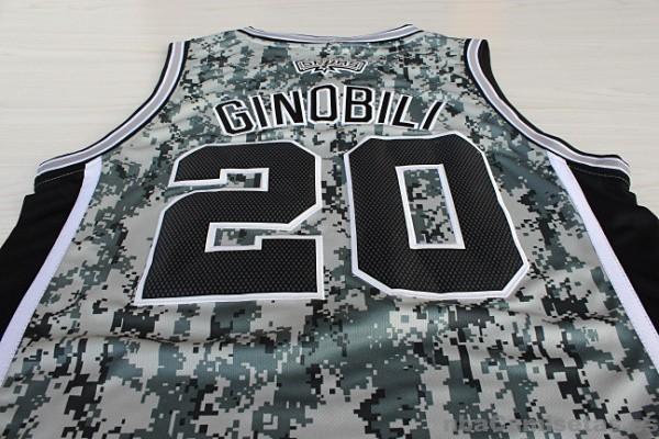 9e17f3494 ... Camiseta Camuflaje Ginobili San Antonio Spurs Revolution 30 ...